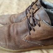 Кожаные утеплённые ботинки Dune р.43-28см.