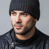 Оригинальная мужская шапка на подкладке из микрофлиса, рацсветки в наличии
