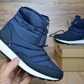 Зимние женские ботинки Reebok blue
