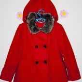 Пальто кашемировое 3-4 года TU