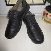 Кожаные туфли Clarks 44 р