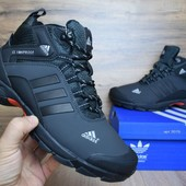 Зимние ботинки Adidas ClimaProof black/gray