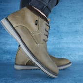 Ботинки Yuves, зимние, натур. кожа на меху, р 40-45, код gavk-10530