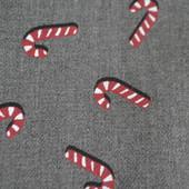 Хлопковая рубашка рождественская подарок Slim fit, H&M, M