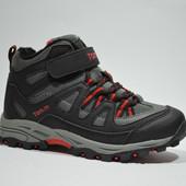 Ботинки TOM.М арт.8884C black-red (еврозима) полномерные