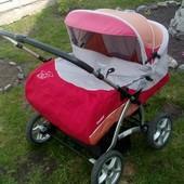 Детская коляска б.у для двойни