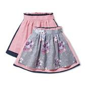 Отличная двухсторонняя юбка с фартуком Тсм Чибо. 146 -152