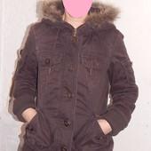 S-M, брендовая! куртка парка Only, Дания демисезон или теплая зима