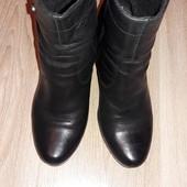 Натуральная кожа ботинки р.40 стелька 26 см.