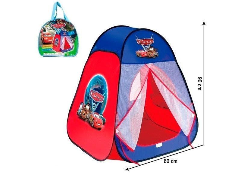 Детская палатка домик 811 тачки  фото №1