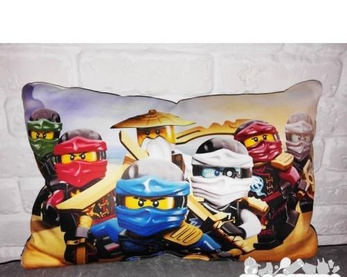 Подушка игрушка  lego nexo knights  ninja go ниндзяго лего декоративная фото №1