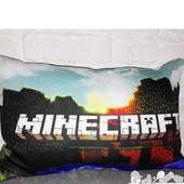 Подушки Майнкрафт с криперами Minecraft детские декоративные