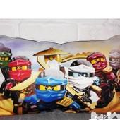 подушка игрушка  lego nexo Knights  Ninja go ниндзяго лего декоративная