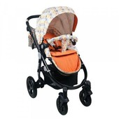 Универсальная коляска 2 в 1 Babyhit Valenta White Orange (22-447)