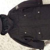 Демисезонное шерстяное пальто Next на 7 лет, рост 122 см.