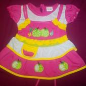 Красивое яркое нарядное платьице на лето