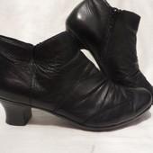 Ботинки Кожа Германия Rieker 37,5-38 размер