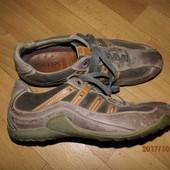 (i275)фирменные кожаные кроссовки 43 р Geox