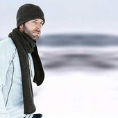 зимняя термо шапка на флисе.ТСМ.Германия.59-65