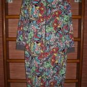 Пижама хлопковая,размер ХS, рост до 170 см