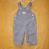 0-3-6 мес., р. 50-68 джинсовый ромпер полукомбинезон фирменный Carters