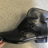 Новые женские ботинки,ботильоны,бренд San Marina,кожаные , 37 р