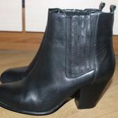 Стильні чобітки , ботінки , ботинкы кожаные
