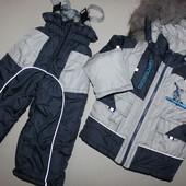 Зимний костюм, комбенизон, куртка, курточка 2-3 года 86-92 рост