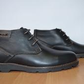 Зимние ботинки 40-45 р ed-ge brothers кожа и замша