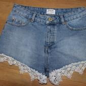 Стильные джинсовые шорты miss selfidge