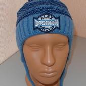 Детская шапка зимняя тёплая разные цвета