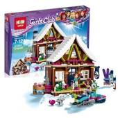 Конструктор Lepin 01040 Горнолыжный Курорт: шале | аналог Lego Friends 41323