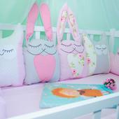 Детское постельное белье и защита в кроватку