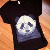 Жіноча футболка з Польщі ))) панда  100% котон