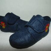 Тапочки войлочные Impidimpi 26р-р,ст 17см.Мега выбор обуви и одежды