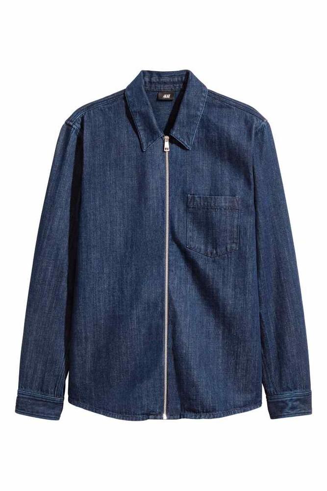 Чоловічий фірмовий  джинсовий піджак від h&m ))) фото №1
