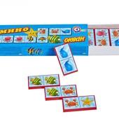 Настольная игра Домино Океан ТехноК 3299