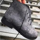 Ботинки женские замша Oleksey Stael