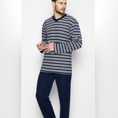 Теплая махровая пижама тм Регина(польша), размер м, л,хл, ххл