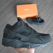 Зимние кроссовки Nike Huarache на меху