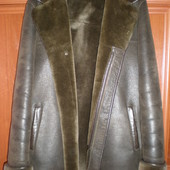 Мужская искусственная дубленка на меху - 50 - 52р в обмен на порошок