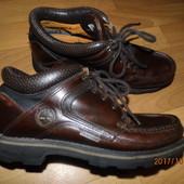 (i368)фирменные кожаные ботинки 40 р Timberland Waterproof
