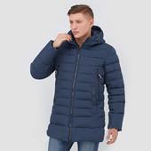 Мужская зимняя куртка на биопухе 48, 50, 52, 54, 56, 58