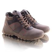 Мужские ботинки 16601 коричневые