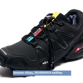 Кроссовки зимние Salomon Speedcross 3, четыре цвета, на меху, р. 40-45. код kv-3166