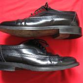 Navyboot (41, 26,5 см) кожаные туфли блюхеры броги мужские
