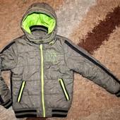 Куртка зима на мальчика 128-134 р
