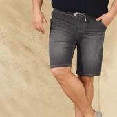 Мужские джинсовые шорты бермуды XL 58 евро Livergy Германия