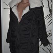 сток Большой выбор верхней одежды разных размеров и фасонов парка с мехом трансформер зимняя куртка