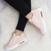 Кроссовки Nike Air Max пудра, кроссовки найк аир макс копия